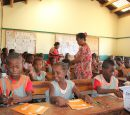 Staffing of school supplies to underprivileged youth